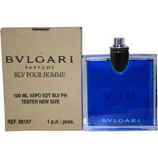 Bvlgari BLV Men's 3.4-ounce Eau de Toilette Spray (Tester)