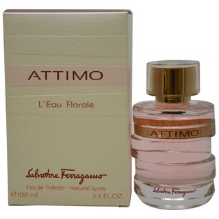 Salvatore Ferragamo Attimo L`Eau Florale Women's 3.4-ounce Eau de Toilette Spray