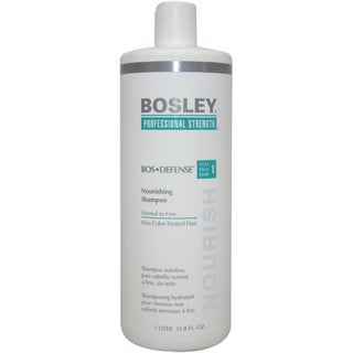 Bosley Defense Nourishing 33.8-ounce Shampoo for Normal to Fine Non Color-Treated Hair