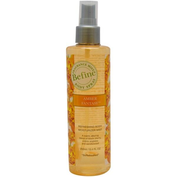 Befine Amber Fantasy Refreshing Body Moisturizer Mist 8.4-ounce Body Spray