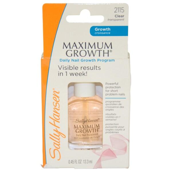 Sally Hansen Maximum Growth Daily Nail Color