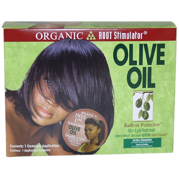 Organic Extra Strength Root Stimulator Olive Oil Relaxer 8-piece Kit