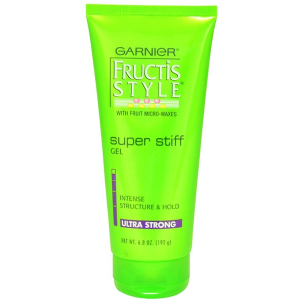 Garnier Fructis Style Super Stiff Intense Structure and Ultra Hold Unisex 6.8-ounce Hair Gel