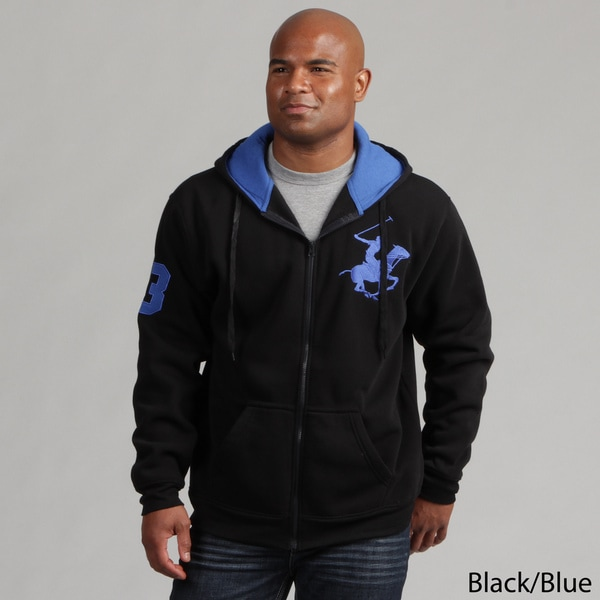 Beverly Hills Polo Club Men's Zip-up Hoodie