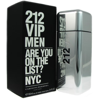 Carolina Herrera 212 VIP Men's 3.4-ounce Eau de Toilette Spray
