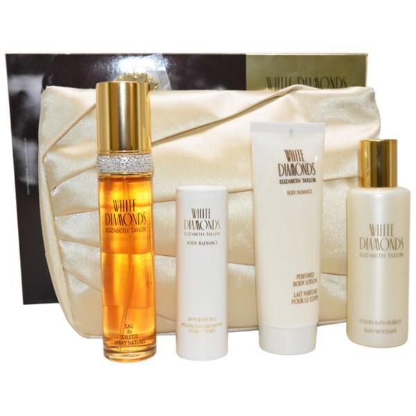 Elizabeth Taylor White Diamonds Women's 5-piece Fragrance Gift Set