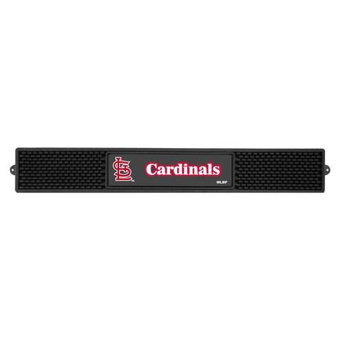 Fanmats MLB St Louis Cardinals Rubber Drink Mat