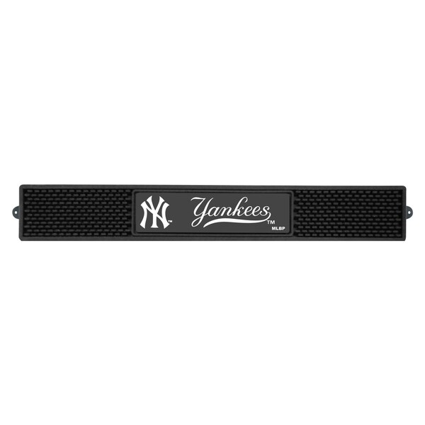 Fanmats MLB New York Yankees Rubber Drink Mat