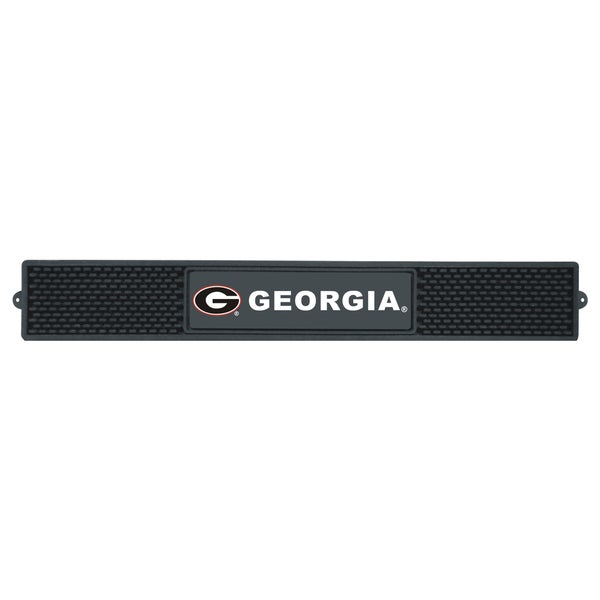 Fanmats NCAA University of Georgia Rubber Drink Mat