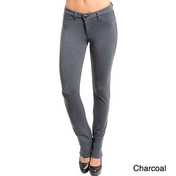 Stanzino Women's Stretchy Cotton Skinny Pants