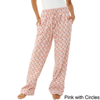 Alexander Del Rossa Women's Cotton Flannel Pajama Pants