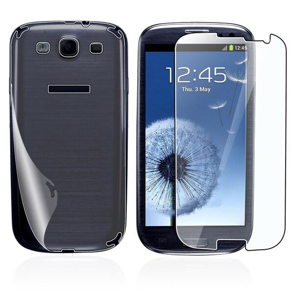 INSTEN Full-body Screen Protector for Samsung Galaxy S III/ S3