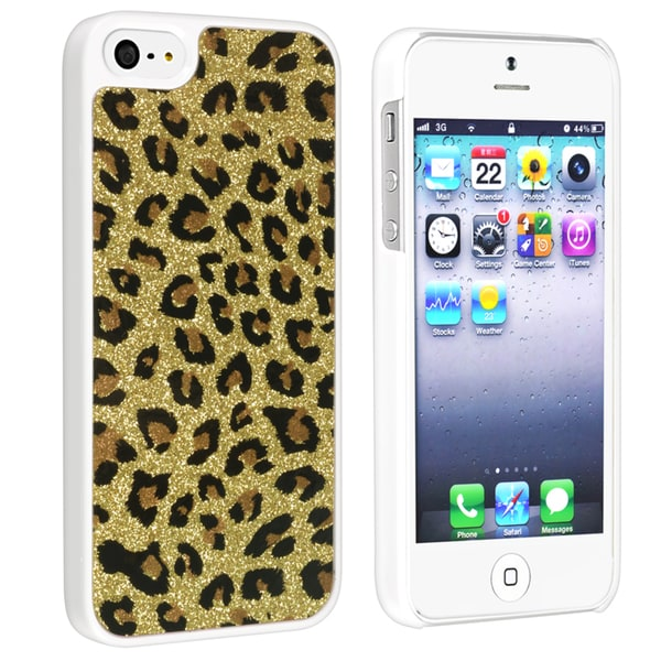 BasAcc Yellow Leopard Snap-on Case for Apple® iPhone 5