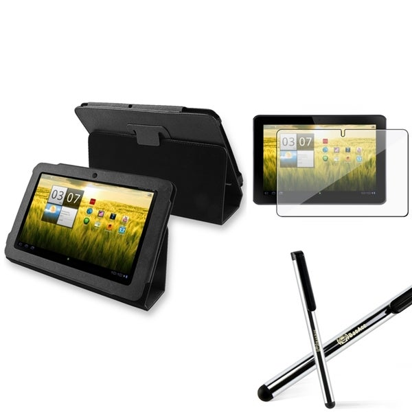 BasAcc Leather Case/ Protector/ Stylus for Acer Iconia A200