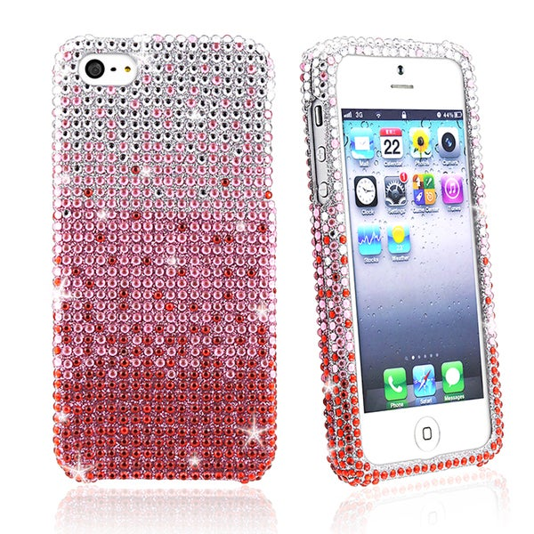BasAcc Red Waterfall Snap-on Case for Apple iPhone 5