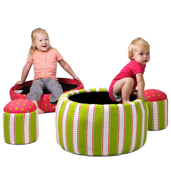 Christopher Knight Home Dottie Kids' Nesting Storage Ottomans (Set of 3)