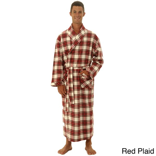 Men's Cotton Flannel Robe