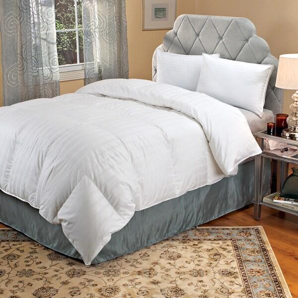 Famous Maker Oversized Baffle Box Down-like Comforter