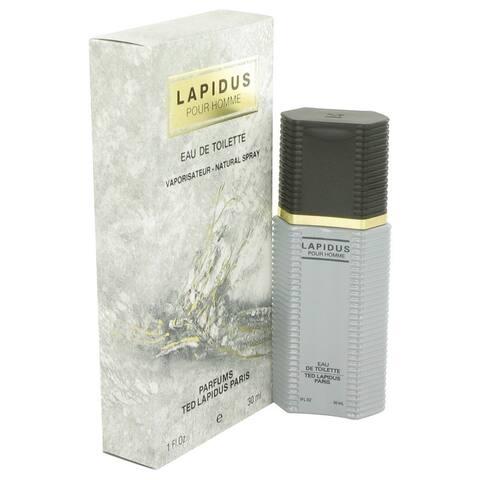 Ted Lapidus 'Lapidus' Men's 1-ounce Eau de Toilette Spray
