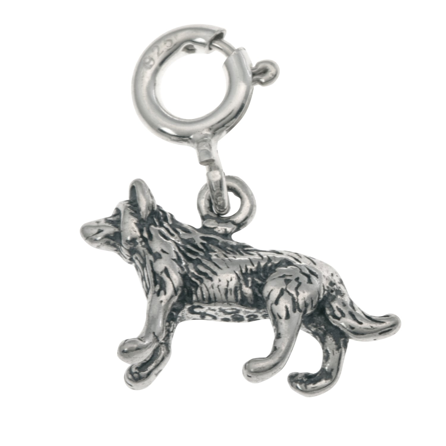 Box or Curb Chain Necklace Rembrandt Charms Sterling Silver Wombat Charm on a 16 18 or 20 inch Rope