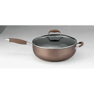 Anolon Bronze 6.5-quart Chef Pan with Lid