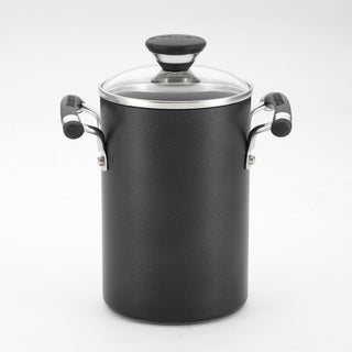 Circulon Black 3.5-quart Pot with Steamer