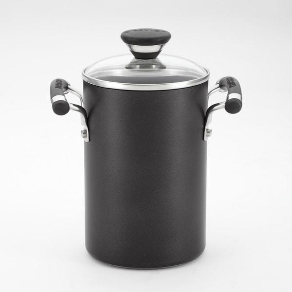 Circulon Black 3.5-quart Pot with Steamer