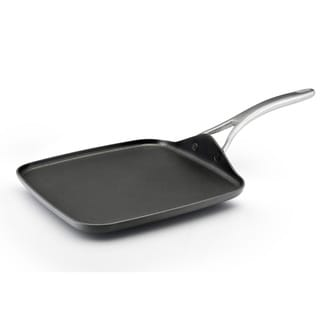 AAnolon Nouvelle Series Hard-anodized Nonstick 11-inch Dark Grey Square Griddle