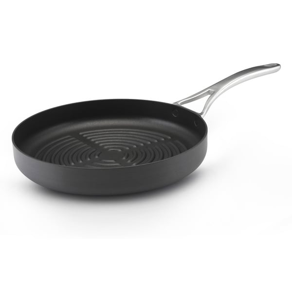 Anolon Nouvelle Series 12-inch Deep Gray Grill Pan