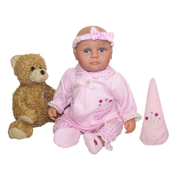 Me and Molly P. 13-inch 'Wendi' Baby Doll and Bear Toy