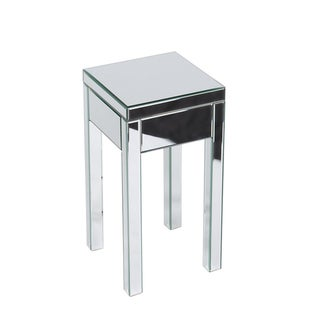 Ave Six Reflections Mirrored End Table