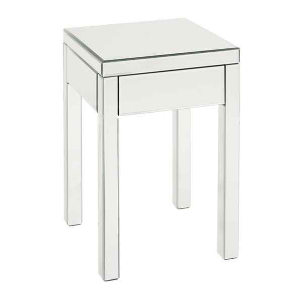 Shop Osp Home Furnishings Reflections Mirrored End Table Free