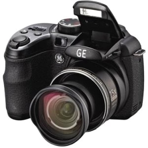 GE Power Pro X550 16.1 Megapixel Bridge Camera - Black