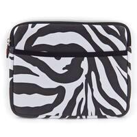 Kroo Apple iPad 2nd and 3rd Gen Zebra Print Carrying Case