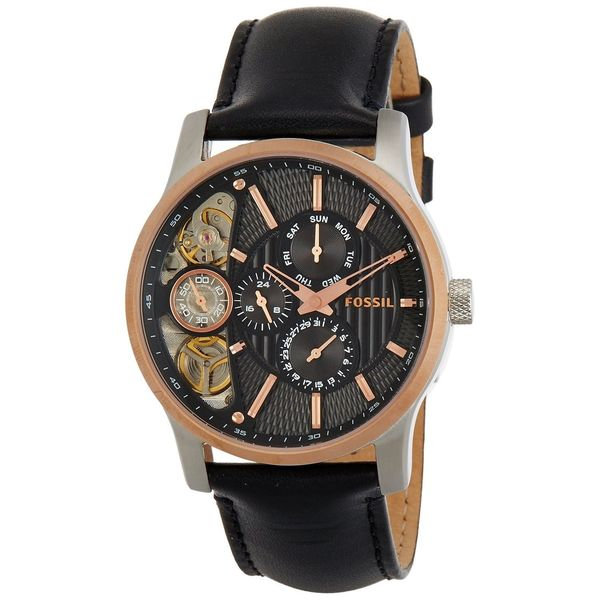 Fossil Men's Stainless Steel 'Twist' Automatic Watch