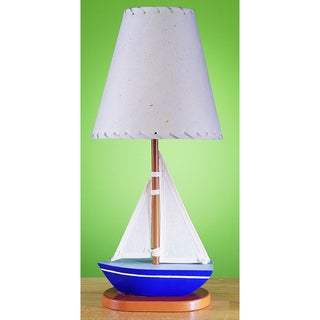 Cal Lighting Kids Sailboat Table Lamp