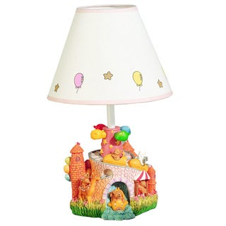 Cal Lighting Kids Carnival Table Lamp - White