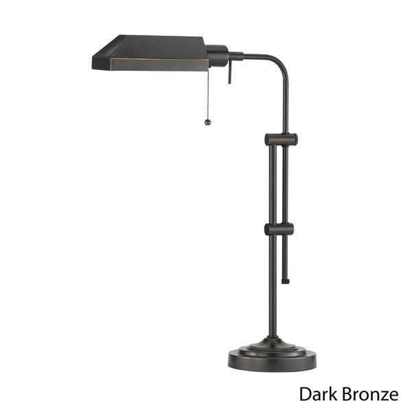 Cal Lighting Dark Bronze Pharmacy Table Lamp