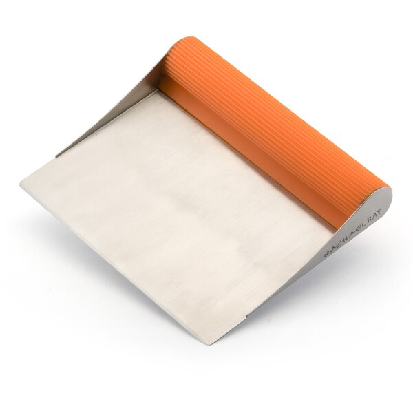 Rachael Ray Tools and Gadgets Stainless Steel Orange Bench Scrape