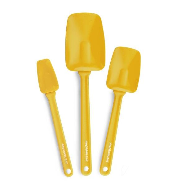 Rachael Ray Tools Yellow 3-piece Spoonula Set