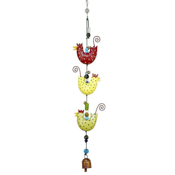 Handmade Cluck Cluck Cluck! Wind Chime (India)
