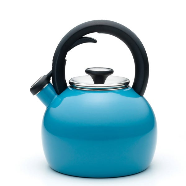 KitchenAid Peacock Porcelain 2-quart Tea Kettle
