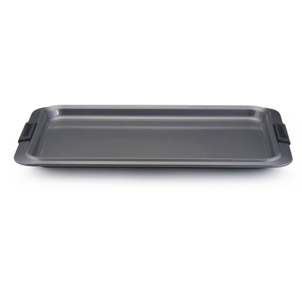 Anolon Advanced Nonstick Bakeware 11 x 17-inch Grey with Silicone Grips Cookie Sheet