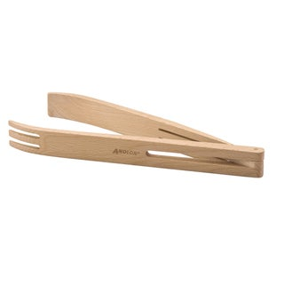 Anolon Tools and Gadgets 12-inch Beechwood Tongs
