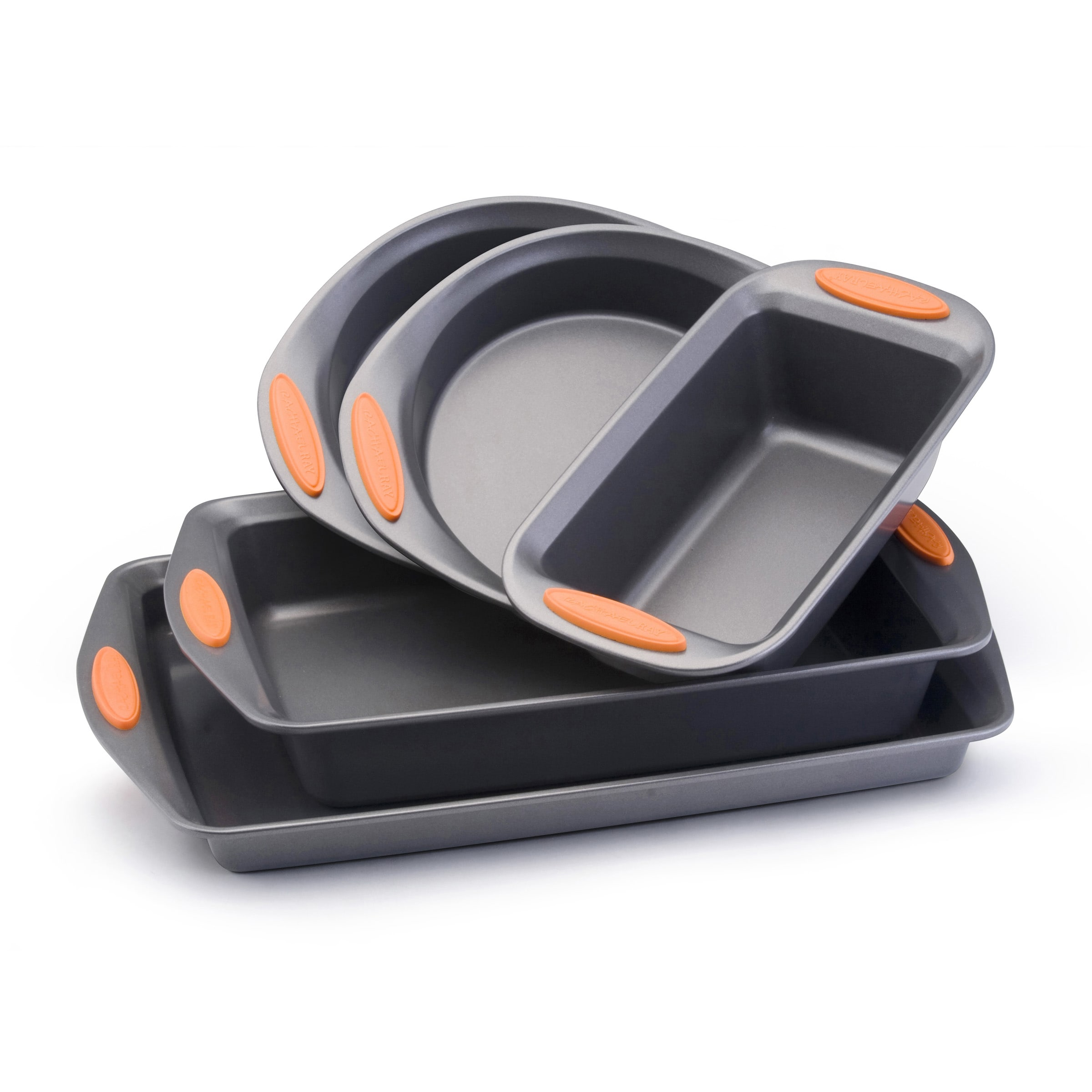 Rachael Ray Bakeware Oven Lovin' 5-Piece Set, Black (Metal)