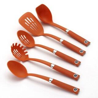 Rachael Ray Tools Orange 5-Piece Tool Set