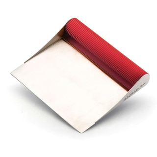 Rachael Ray Tools and Gadgets Stainless Steel Red Bench Scrape