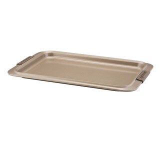 Anolon Advanced Bronze Nonstick Bakeware 10 x 15-inch Cookie Pan with Silicone Grips