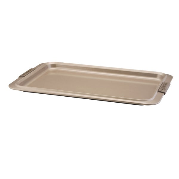 Anolon Advanced Bronze Nonstick Bakeware 11 x 17-inch Cookie Pan with Silicone Grips
