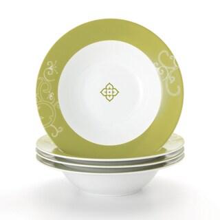 Rachael Ray 'Curly-Q' 4-piece Pasta Bowl Dinnerware Set